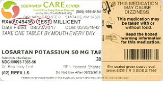 Southwest Care Label