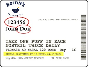 Bernie's Label