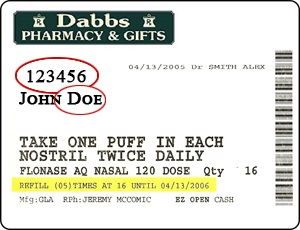 Dabbs Label