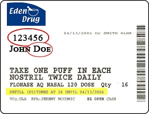eden drug label