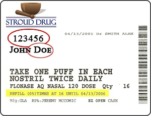 Stroud Drug Label