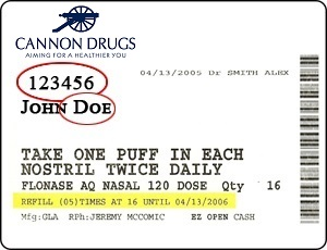 cannon label